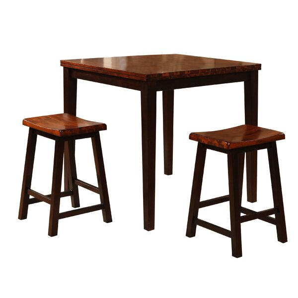 3 Piece Counter Height Pub Table Set by Wildon Home®