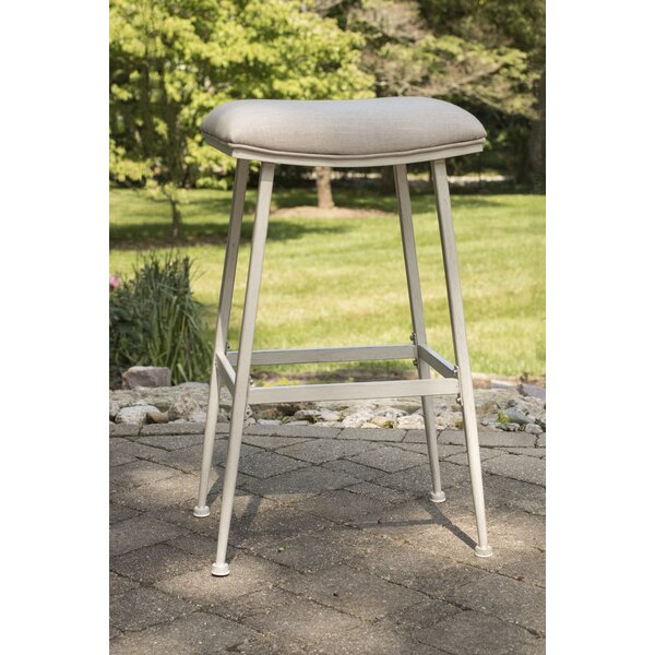 Imane 26 Indoor/Outdoor Patio Bar Stool by August Grove