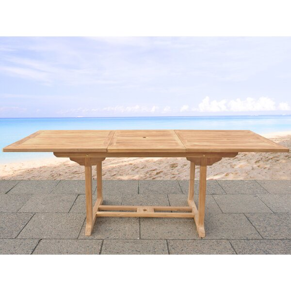 Ponce Solid Wood Dining Table by Williston Forge