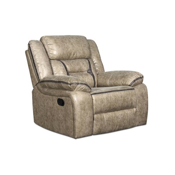 Noxon Faux Leather Power Glider Recliner W000503338