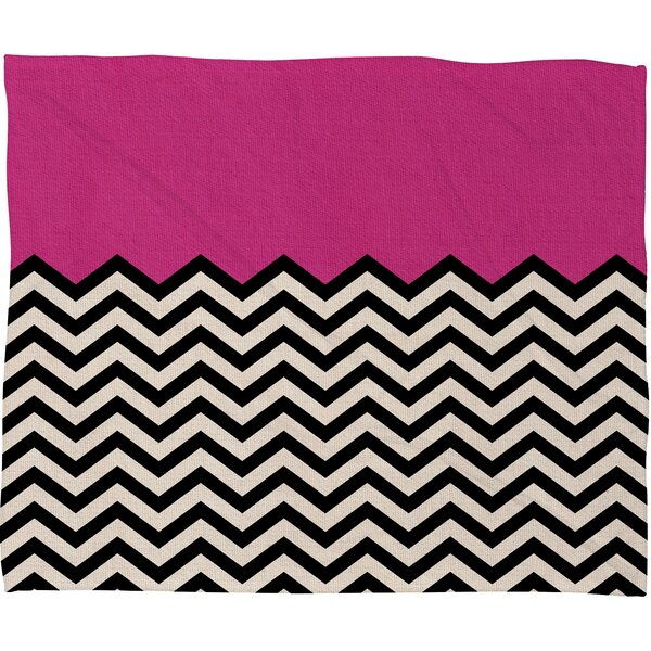Bianca Green Throw Blanket by Deny Designs