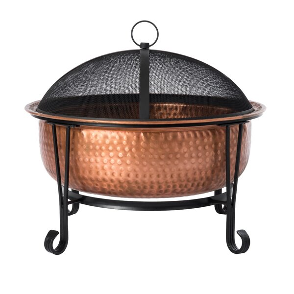 Palermo Copper Wood Burning Fire Pit by Fire Sense