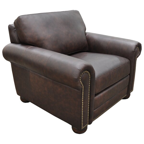 Athens Club Chair by Omnia Leather Omnia Leather