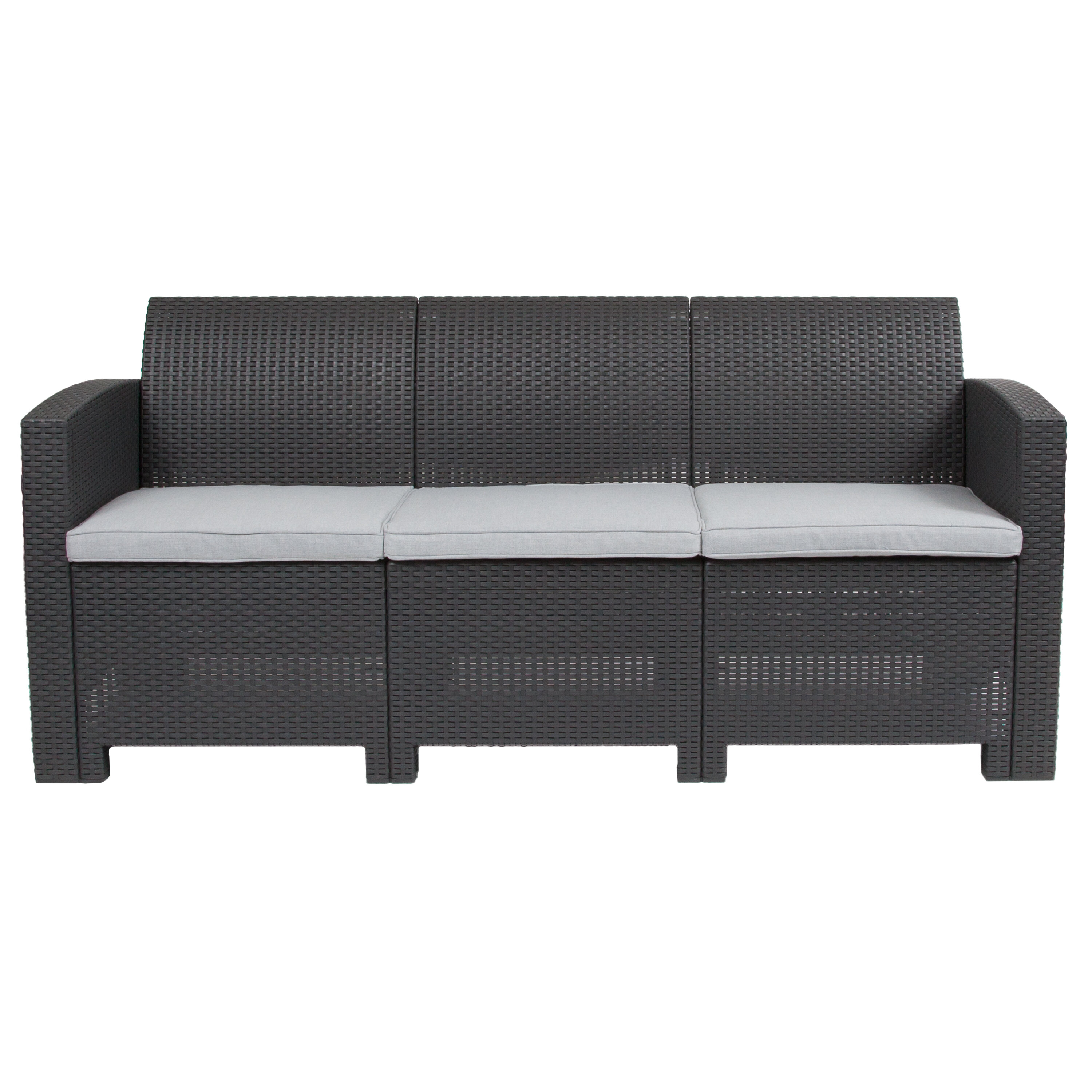 Stockwell Patio Sofa with Cushions