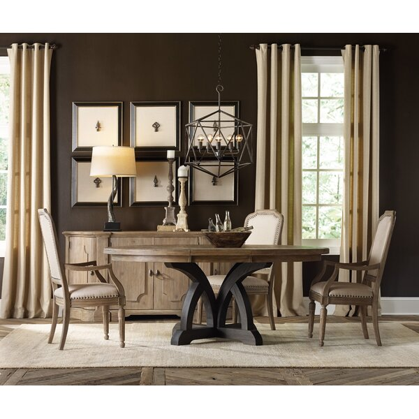 Corsica 5 Piece Extendable Dining Set by Hooker Furniture