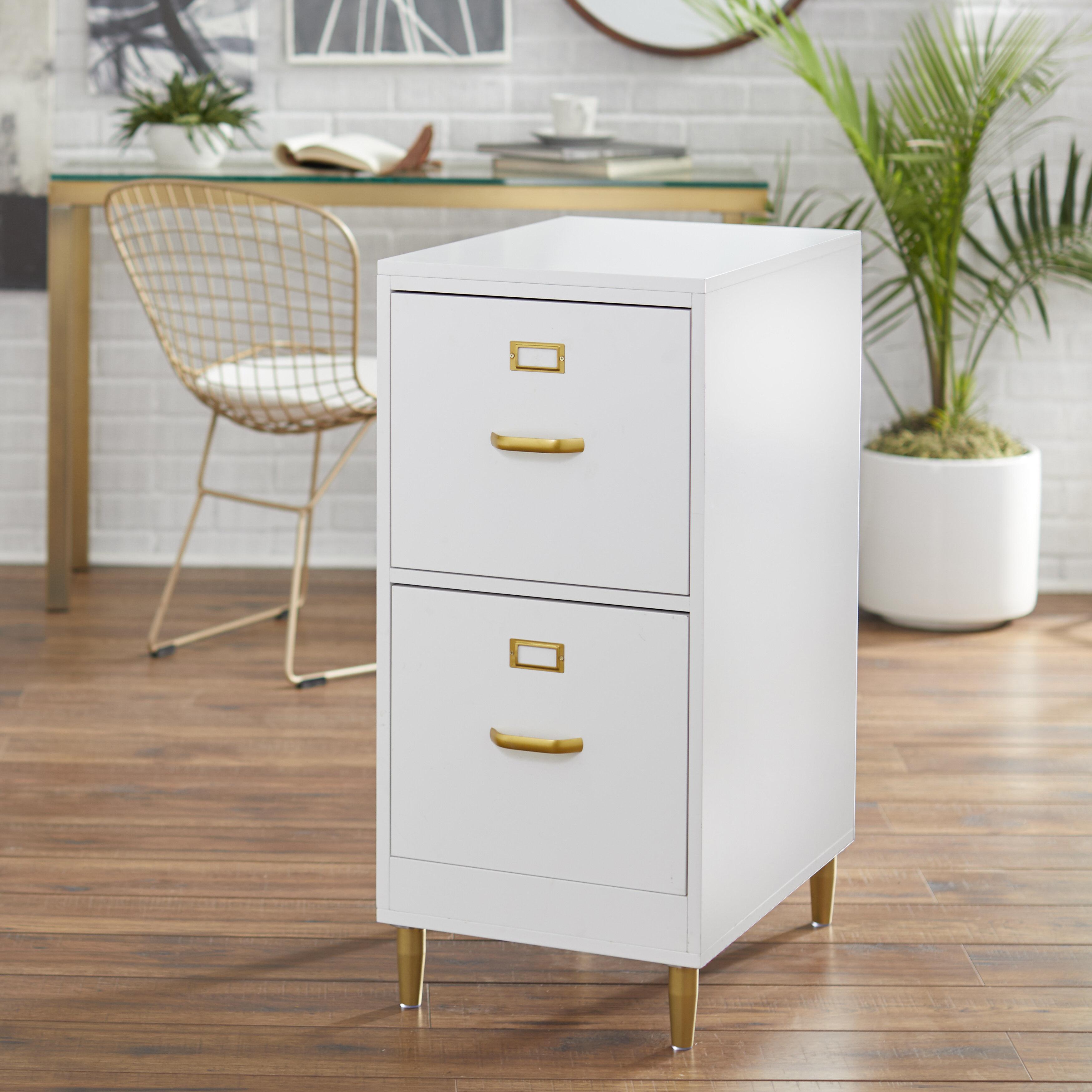 Mercer41 Dahle 2 Drawer File Cabinet Reviews Wayfair
