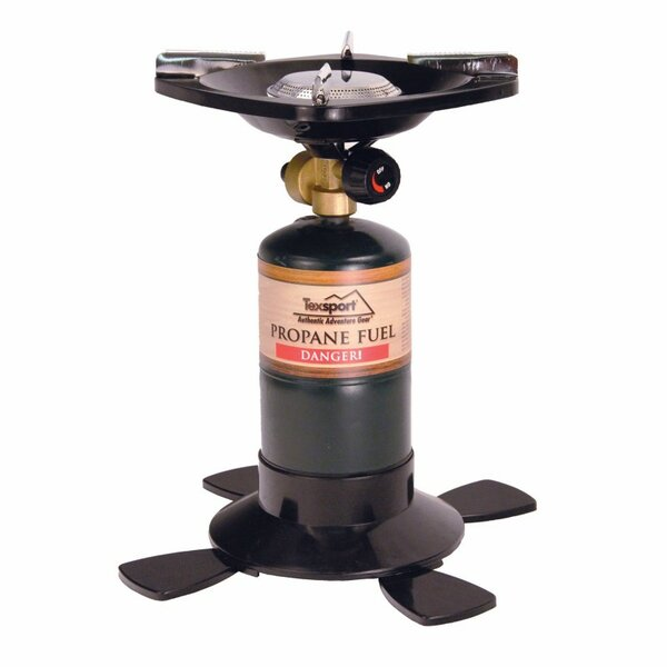 Single Burner Propane Outdoor Stove by Texsport