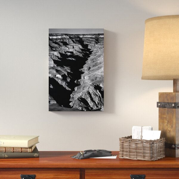 Grand Canyon From S. Rim, 1941 by Ansel Adams Photographic Print on Wrapped Canvas by Loon Peak