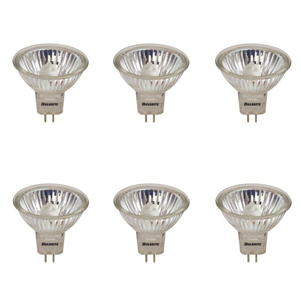 GU5.3 Dimmable Halogen Spotlight Light Bulb (Set of 6) by Bulbrite Industries