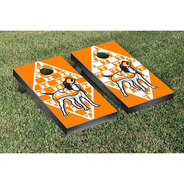 NCAA Tennessee Volunteers VOLS Smokey Version Cornhole Game Set by Victory Tailgate