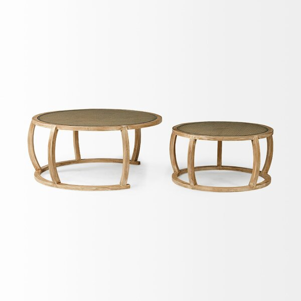 Cozine 2 Piece Coffee Table Set by Highland Dunes Highland Dunes