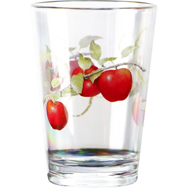 Harvest Apple Acrylic 8 oz. Drinkware (Set of 6) by Corelle