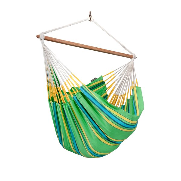 CURRAMBERA Cotton and Polyester Chair Hammock by LA SIESTA