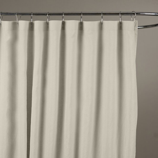 Bernadette Linen Shower Curtain by Birch Lane™