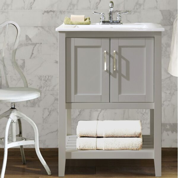 @ Freels 24 Single Bathroom Vanity Set by Charlton Home| #$469.99!