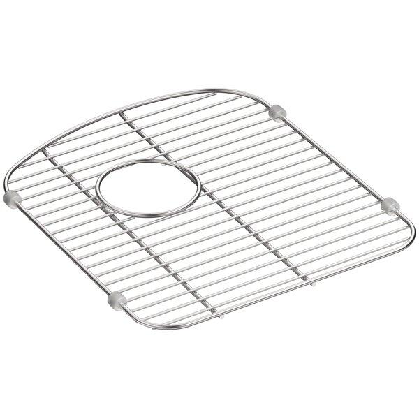 Langlade Smart Divide Stainless Steel Sink Rack for Right-Hand Bowl by Kohler