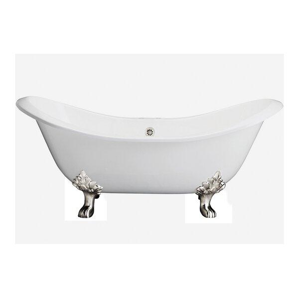 71 x 31 Freestanding Soaking Bathtub by Cahaba Classics
