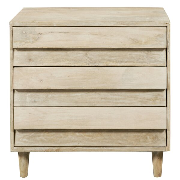 Raheem Reclaimed Look 3 Drawer Accent Chest by Foundry Select Foundry Select
