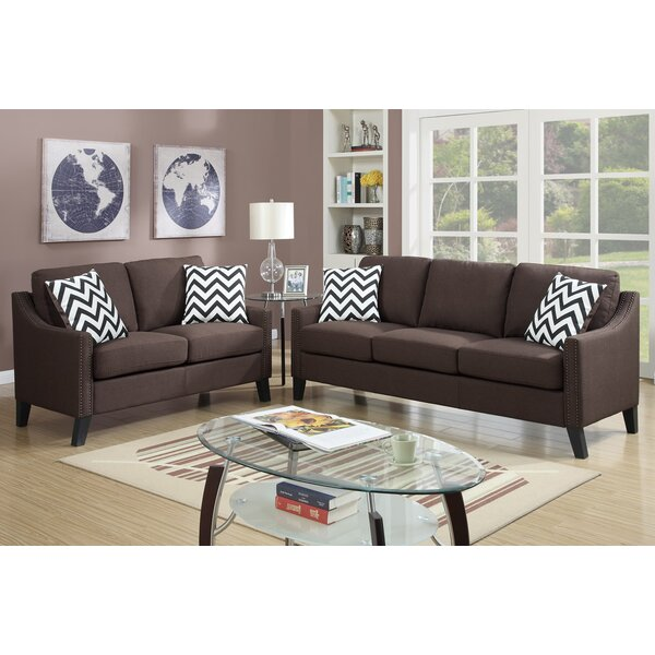 Wimbled 2 Piece Living Room Set by Ebern Designs
