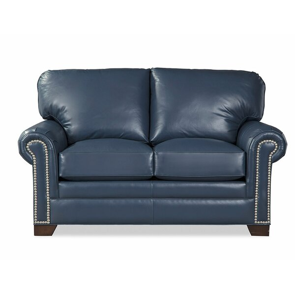 Copola Leather Loveseat By Craftmaster