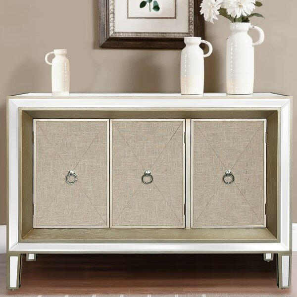 Myrie 3 Door Accent Cabinet by House of Hampton
