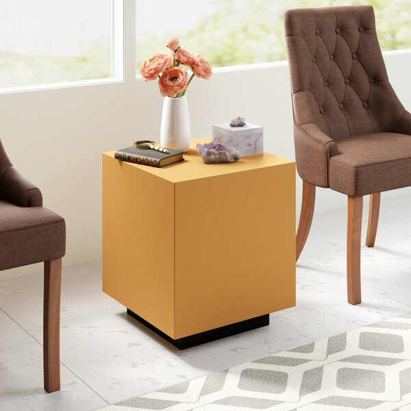 Grimsby End Table by Everly Quinn Everly Quinn