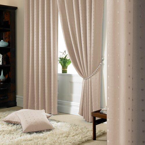 Vorhang-Set Bersum Madison mit Kräuselband| blickdicht Three Posts Farbe: Milchkaffeebeige| Vorhanggröße: 167 B x 182 T cm | Heimtextilien > Gardinen und Vorhänge | Three Posts