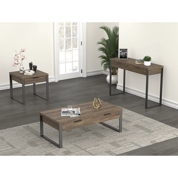 Freeman 3-pcs Living Room Table Set by Union Rustic Union Rustic