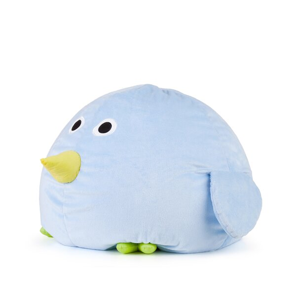 Kidding Bird Bean Bag Chair by Zoomie Kids
