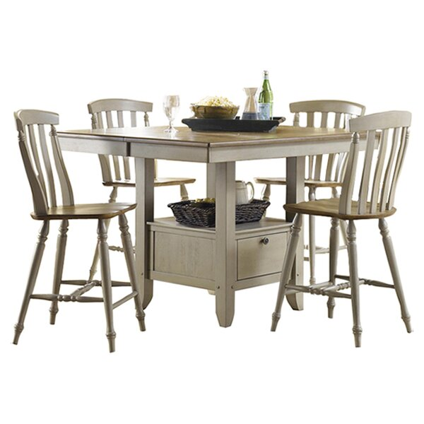 Cher 5 Piece Dining Set by Rosalind Wheeler