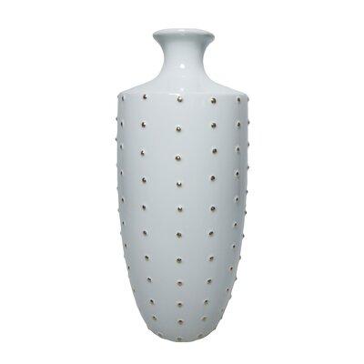 Wrought Studio Aguila Ceramic Dot Table Vase Wayfair