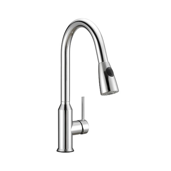 Prosper Pull Down Single Handle Kitchen Faucet by Safavieh