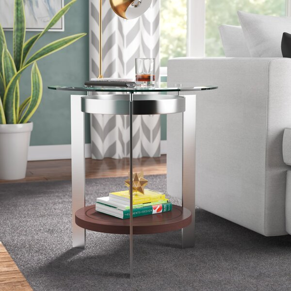 Willa End Table by Latitude Run Latitude Run