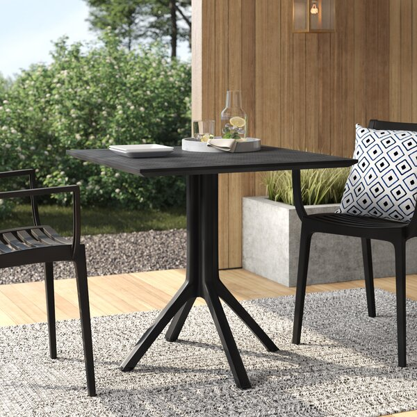 Curnutt Plastic/Resin Dining Table by Mercury Row