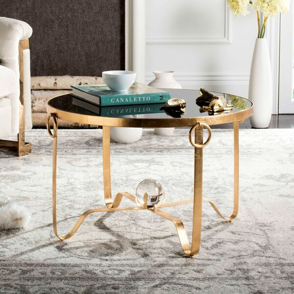 Rex Cross Legs Coffee Table By Willa Arlo Interiors