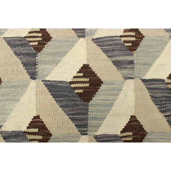 One-of-a-Kind Pender Hand-Woven Wool Beige Area Rug by Orren Ellis