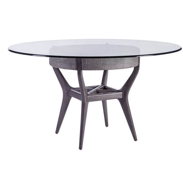 Signature Designs Dining Table with Glass Top by Artistica Home
