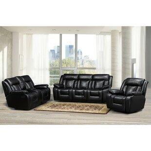 Aisling 3 Piece Living Room Set