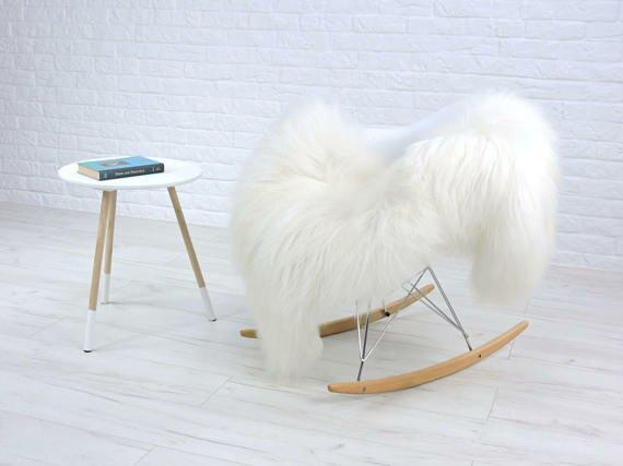 Alrik Mongolian Curly Icelandic Sheepskin White Area Rug by Trent Austin Design