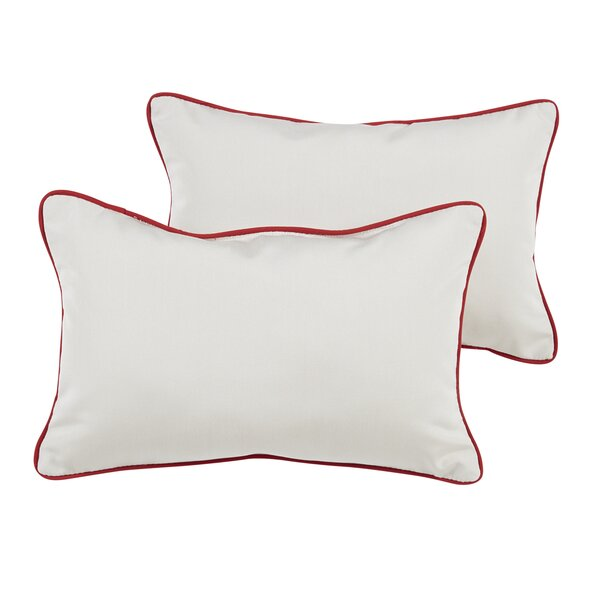 Cameron Sunbrella Outdoor Lumbar Pillow (Set of 2) by Breakwater Bay