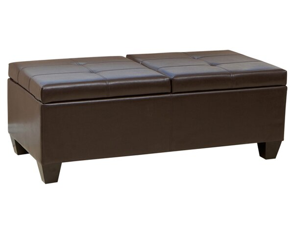 Palos Tufted Rectangle Storage Ottoman By Alcott Hill