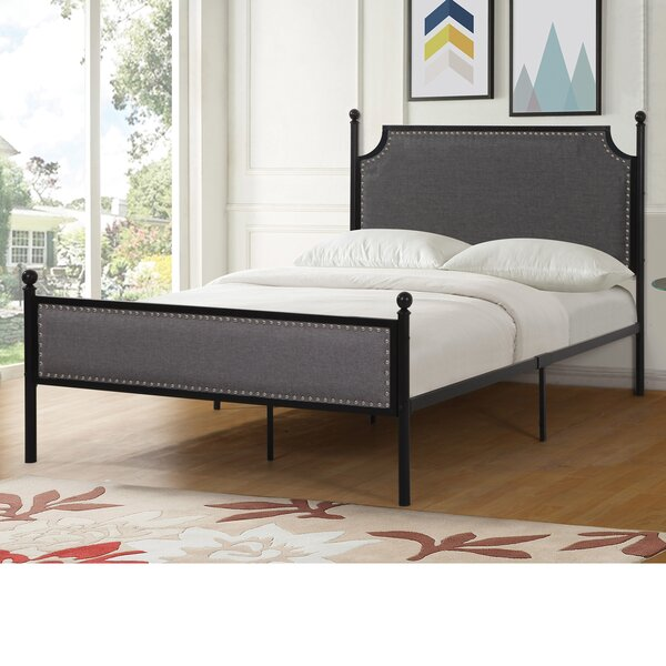 Icarus Upholstered Standard Bed by Charlton Home