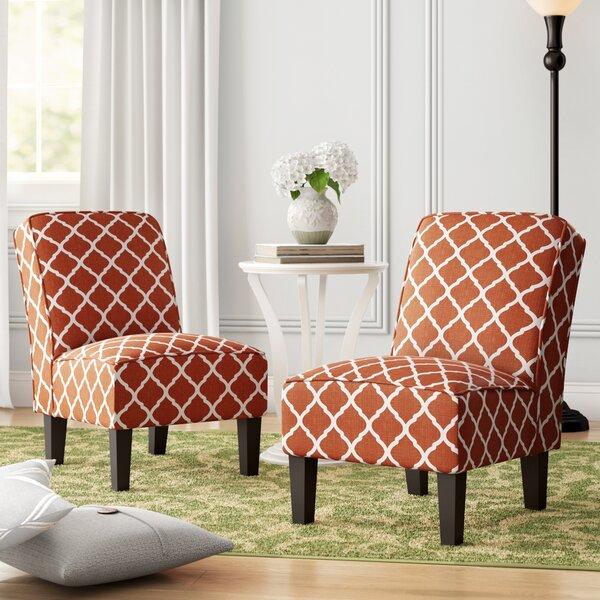 Ferebee Slipper Chair (Set of 2) by Charlton Home