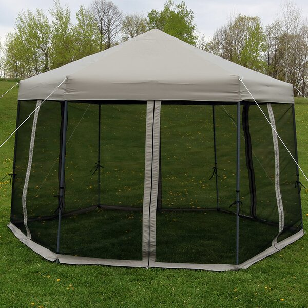 Enola 12 Ft. W x 12 Ft. D Steel Pop-Up Canopy by Freeport Park
