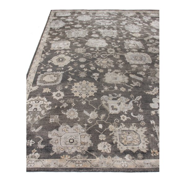Museum Hand-Knotted Silk Midnight Blue Area Rug by Exquisite Rugs
