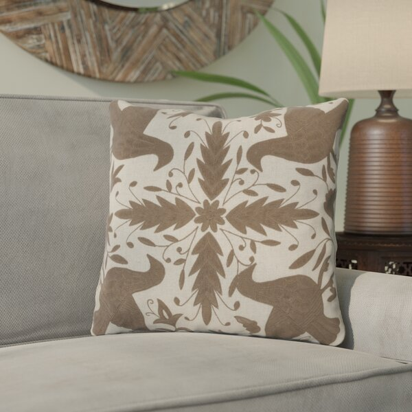 Clayton Throw Pillow by Bungalow Rose