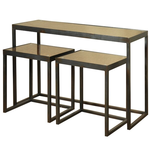 Eliza 3 Piece Nesting Table Set By Foundry Select