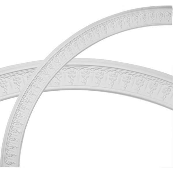 Spiral 79 1/2H x 79 1/2W x 4 5/8D Ceiling Ring by Ekena Millwork