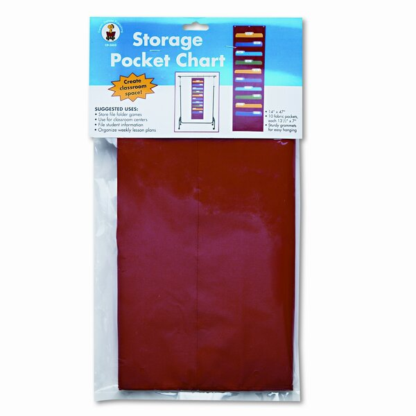 Storage Pocket Chart by Carson-Dellosa Publishing