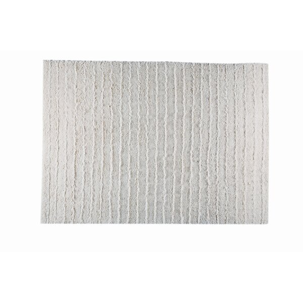 Rufo White Area Rug by Hokku Designs